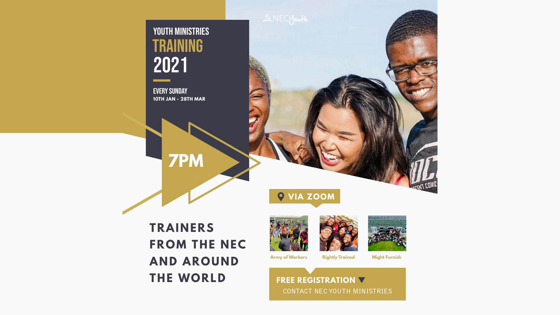 Youth Ministries Training 2021
